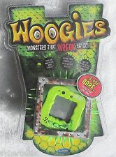 Woogies Interactive Electronic Pet Rubber Hairy Monster GREEN New 2008