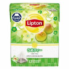 "Lipton, ""Ume Tea"" 12 tea bags in 1 bag, Ume Plum Flavor, Japan Limited"