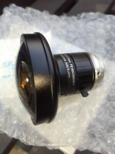 "Fujinon FE185C086HA-1 1"" C-Mount 2.7mm F/1.8 Manual Iris Fisheye Lens Fish Eye"