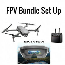 DJI Mavic 2 Zoom With Smart Controller And FPV Yuneec SkyView Goggles Bundle