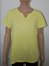8aec5d4a5b7c55 bpc Bon Prix Shirt T-Shirt kurzarm Basic gelb XL 44/46 sehr guter