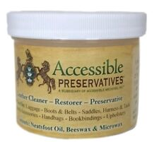 Accessible Preservatives Leather Restorer 4 OZ.(AKA: Triple Crown, Fredelka)