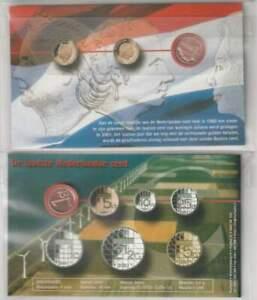 Setje met de laatste Nederlandse Cent 2001