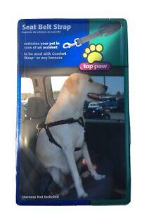 NIP Top Paw Seat Belt Strap Medium Large Dogs Car Restraint 5151875