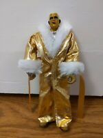 RARE WWE Goldust Elite With Robe Wrestling Action Figure Mattel 2012 - Free P&P