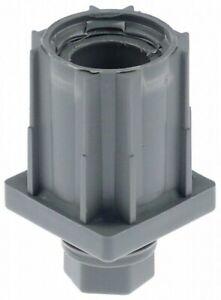 2x Gerätefuß  Rohrtyp 40x40 1,2-1,5mm Höhe 23-55mm