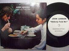 PODJ 700 John Lennon - Nobody Told Me / Yoko Ono - Oh Sanity