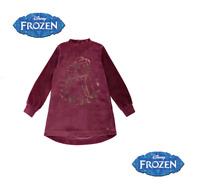 Robe en velours La reine des neiges fille officiel Disney du 3 au 10 ans