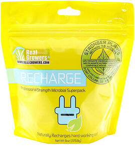 Real Growers Recharge 8 Oz (226.8g) Microbial Tea Microbes Like Ecothrive Biosys