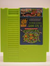 500 in 1 NES Classic Nintendo Super Game Cartridge Contra TMNT Bubble Bobble 2