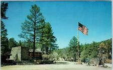 PRESCOTT, Arizona  AZ   Roadside Mobile Home Park  THE PONDEROSA  1973  Postcard