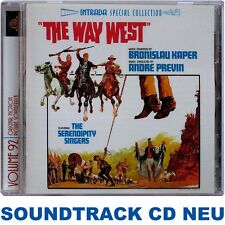 The Way West - Bronislau Kaper - Soundtrack CD NEU (INTRADA)