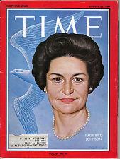 TIME MAGAZINE AUGUST 28 1964 LADY BIRD JOHNSON PUERTO RICO ROBERT KENNEDY