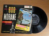 """Rare disque BD Année 50 Bob Morane """"Panique dans le ciel"""" Henri Vernes"""