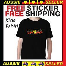 Aboriginal Flag Size 12 Deadly Kids T Shirt Tshirt INCLUDES BONUS FREE STICKER