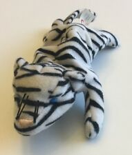 McDonald's Ty Teenie Beanie #10 Blizz The White Tiger (2000) No Hang Tag