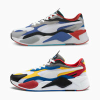 PUMA RS-X3 Puzzle Lace Up Boys Mens Sports Gym Running Jogging Trainers Sneakers