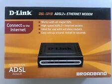 2 x D-Link DSL-321B ADSL2+ MODEM