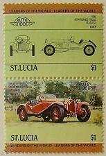 1930 Alfa Romeo 1750 Gs Zagato coche Sellos (líderes del mundo / Auto 100)