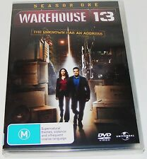 WAREHOUSE 13 : Season One---- (DVD 4-Disc Set New & Sealed)
