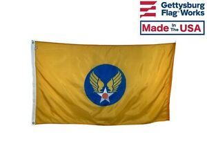 Army Air Corps Hap Arnold Flag - Size 3x5' - Durable All-Weather Nylon- USA Made