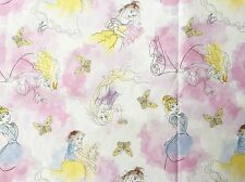 FQ DISNEY PRINCESS CINDERELLA SNOW WHITE RAPUNZEL SKETCH FAIRYTALE FABRIC GIRL