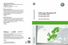 VW RNS 310 Navi Update 2017 SD Karte V9 Westeuropa Volkswagen Seat Skoda Neu