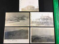 Fort Logan Colorado Army Post Real Photo Postcard RPPC Lot