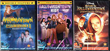Halloweentown DVD Lot Complete 1-4 Kalabar's Revenge High Return to Movies Set