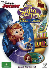 Sofia the First: The Secret Library  - DVD - NEW Region 4