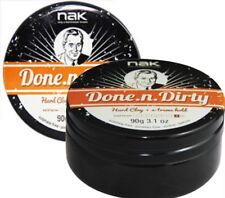 Nak Done N Dirty Matt Clay Firm hold Duo Pack 2 x 90g Authorised Stockists