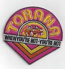 HOLDEN TORANA  Iron On Patch 8 x 8 CMS APPROX  SPECIAL  BUY 2 WE SEND THREE