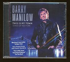 """Barry Manilow Lot of (4) Brand New Unopened CD Album """" Love Letter To New York"""""""
