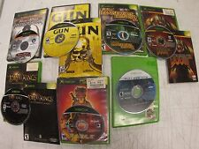Xbox Games *Lot of of 7* 'FREE SHIPPING!' description has game list