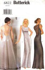Butterick Sewing Pattern 6822 Evening Gown Dress 12-16 UNCUT