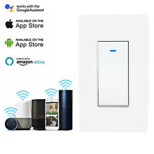 Smart WIFI Light Switch For Alexa Google Home IFTTT With Remote Control&Schedule