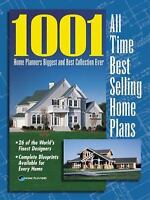 1001 All Time Best Selling Home Plans by Planners, Home