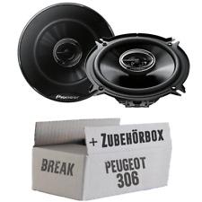 Peugeot 306 Break Heck - PIONEER Lautsprecher Auto Boxen KFZ hinten - Einbauset