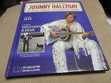 "CD-LIVRE ""JOHNNY HALLYDAY - SOLITUDES A 2 DEUX (1978)"""