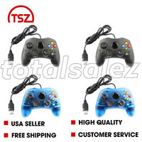 4 For Original Xbox System Black Blue Video Game Pad Remote Controller