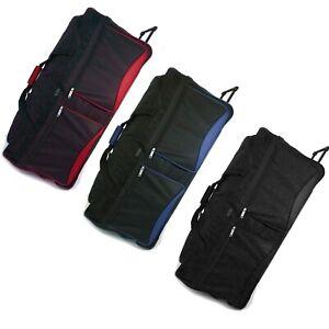 XL Extra Large Travel Luggage Wheeled Trolley Holdall Suitcase Case Duffle Bag