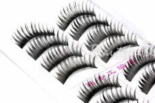 20 x Pairs of False Fake Long Eyelashes Lashes Make-up Thick UK  #05