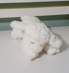BABY GUND WINKY LAMB RATTLE BABY SHEEP BABY TOY SOFT TOY PLUSH TOY 20CM LONG!