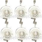 6 Pack 3W LED Replacement HI Lumen Chip DIY 10000K Actinic 460nm 3 Watt