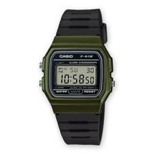 Casio Collection Uhr F-91WM-3AEF Digital Schwarz