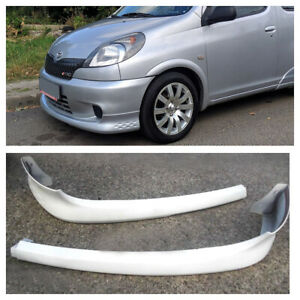Front lip for Toyota Yaris Verso / Funcargo, prefacelift, XP20, NCP20