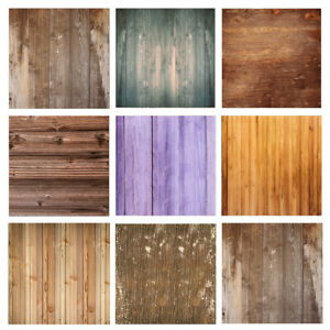 Wood Board Texture Photography Backdrop Desk Table Art Photo Background Cloth