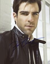 "ZACHARY QUINTO Authentic Hand-Signed ""STAR TREK - SPOCK"" 8x10 Photo"