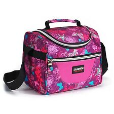 Insulated Lunch Bag Sanne Adult Lunch Box For Work Men/Women /Kids with A... New