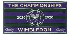 WIMBLEDON TENNIS TOWEL THE CHAMPIONSHIPS 2020 GREEN PURPLE